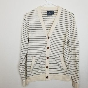 Hawkings McGill| Mens striped cardigan